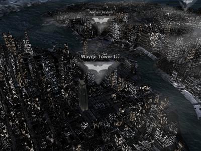化身蝙蝠俠,用 Nokia 3D 地圖帶你暢遊高譚市