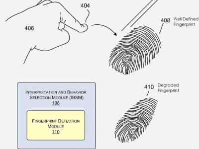 Microsoft Surface 平板將能掃描指紋?10指都有不同的作用與功能