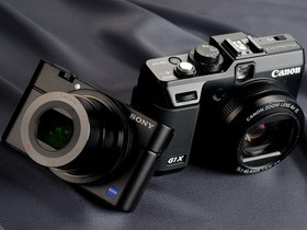大片幅 DC 降臨:Sony RX100 對決 Canon G1X ,你選哪一台?