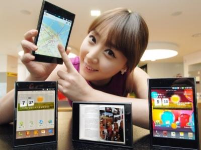 Verizon 與 LG 並肩作戰,推出 5 吋大螢幕的 LG Optimus Vu