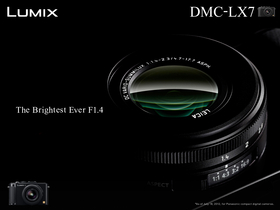 Panasonic LX7 專業隨身機現身,最大光圈F1.4、內建 ND 減光鏡