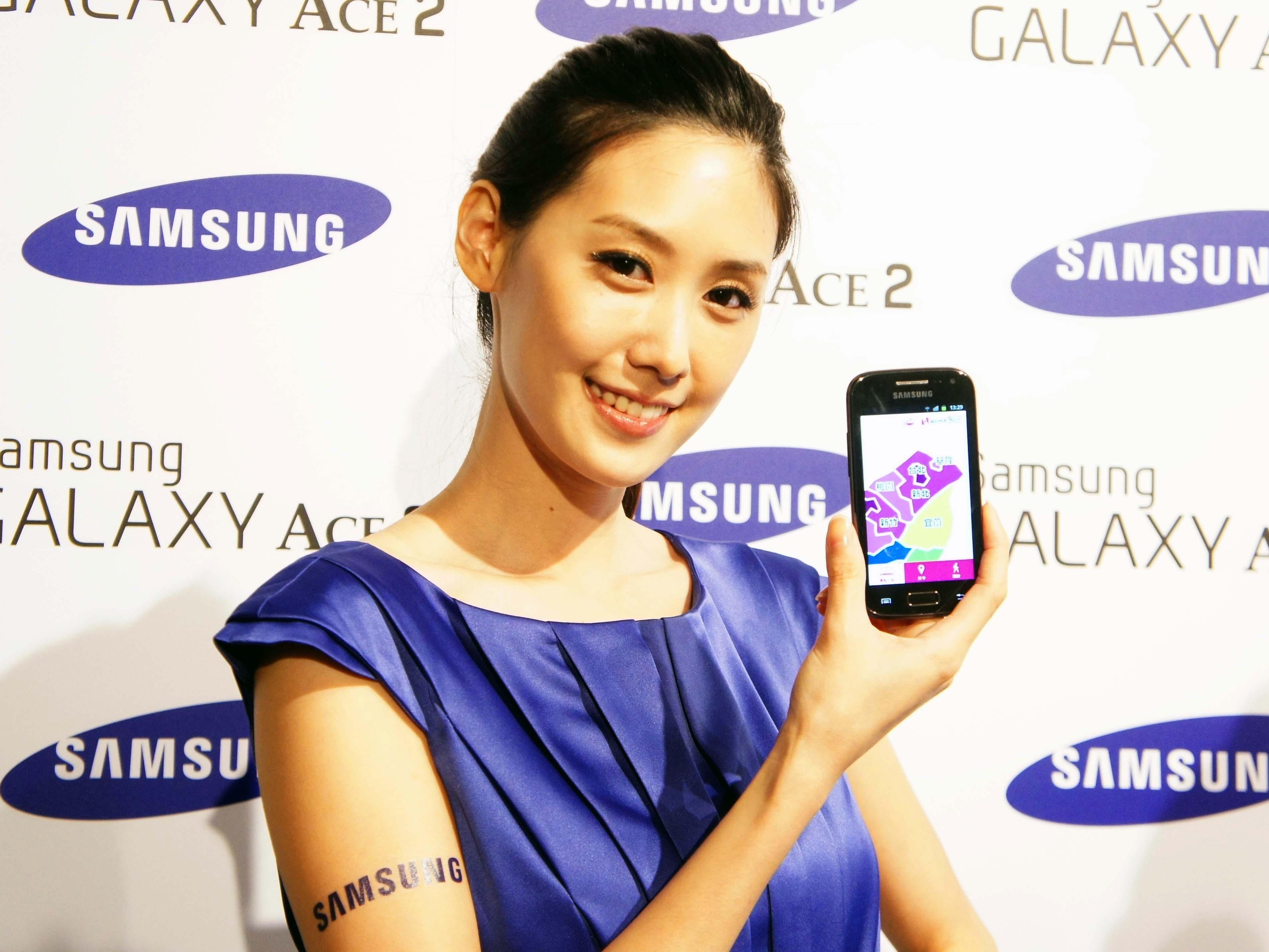 Samsung Galaxy Ace 2 入門雙核機,8,900元平價開賣
