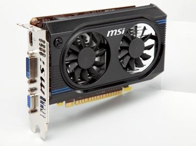 MSI N640GT-MD2GD3/OC:免插電,入門級 Kepler 核心登場