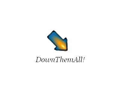 DownThemAll! 套件:讓 Firefox 一次下載網頁上的所有圖片、文件及影音檔