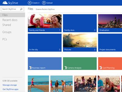 SkyDrive 推出 SkyDrive.com 新網址,並升級 SkyDrive App