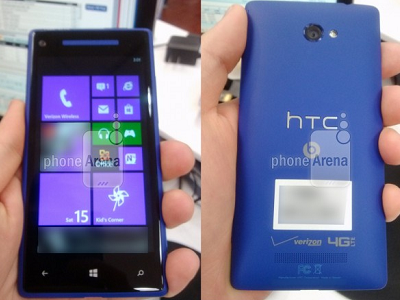HTC 將發表 HTC 8X、8S,皆為 Windows Phone 8 作業系統