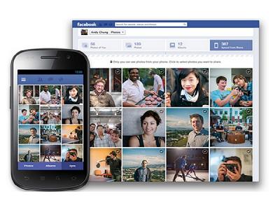 Facebook 將在 Android 平台加入照片同步功能