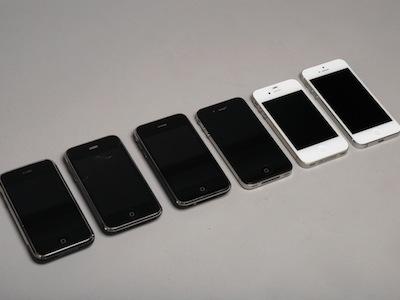 從初代 iPhone 到 iPhone 5,六代 iPhone 外觀、效能、相機怎麼變?