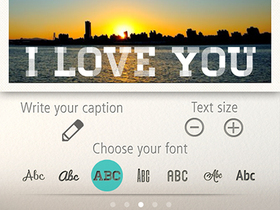 Typic 免費圖文製作 App :浪漫派文青專用,更多調整功能