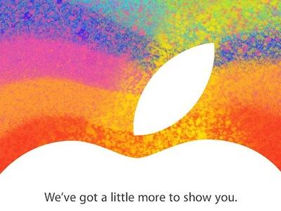 2012 iPad mini 發表會轉播看這裡,還有發表會記錄