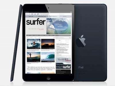 iPad mini 7.9 吋迷你機身,功能樣樣俱全,第四代 iPad 速度更快