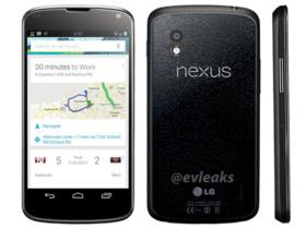 傳 Google Nexus 4 將在10月30日預購,售價389英鎊、搭載 Android 4.2