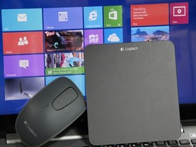 用羅技觸控滑鼠T400、觸控板T650玩Windows 8,實測拍成影片給你看
