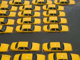 颶風珊蒂重創美東,36 張照片直擊紐約災情