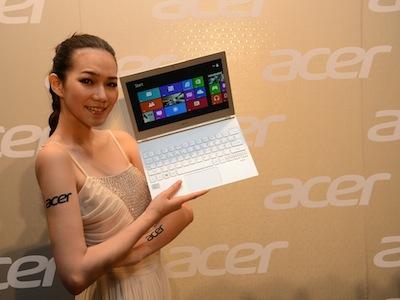 Acer 全系列 Win 8 新品登場:S7、V5、W510、W700 觸控筆電、平板