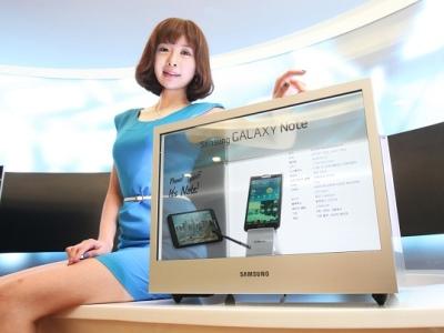 很有趣的透明螢幕!Samsung NL22B 開箱測試,怎麼用看過來