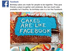 Facebook 首度表態過度使用社交網站並不健康