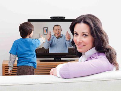 羅技 TV Cam HD 實測:用電視進行 Skype 視訊通話、大畫面很爽快