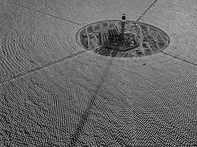 Google 投資的巨大太陽能電廠,超級壯觀的啊!