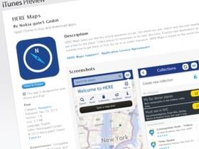 Nokia 推出 iOS 版 HERE Map,動手玩定位導航、交通資訊