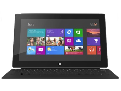 Surface with Windows 8 Pro 明年一月開賣,64GB 899 美元