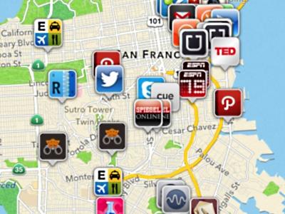 窺探四周朋友常用的 iOS App,App Map 幫你統計!