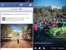 Facebook for Android 2.0 大改版,砍掉重練的快速體驗