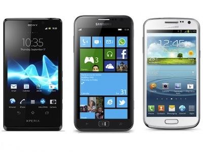 2013年 1月新手機,Sony Mobile、Samsung 雙雄率先開跑