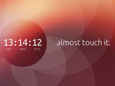 Ubuntu 倒數計時,全新觸控系統即將亮相?