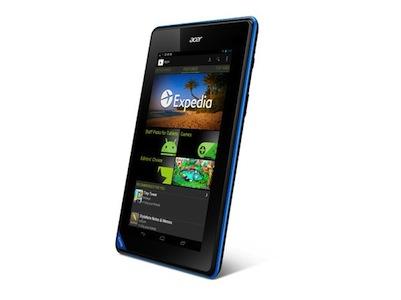 低價平板電腦開打,Acer 正式發表 7吋 Iconia B1-A71