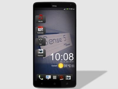 HTC Legend 5 概念圖,謠傳採用新一代 Tegra 4 處理器