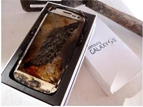微波 Galaxy S3 變身焦黑藝術品,ebay 上賣你 2012 美金!