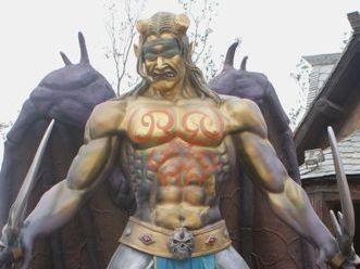 中國山寨版魔獸世界主題樂園,實景照片網路上曝光