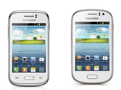 Samsung 發表兩款超入門新機 Galaxy Young、Galaxy Fame