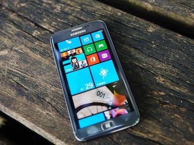 Windows Phone 8 新悍將 Samsung ATIV S 跨平台詳細評測