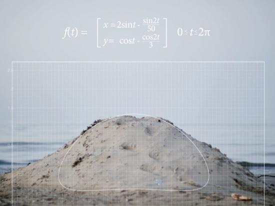 藏在風景中的數學函數 f(x),數學結合攝影變得有趣又浪漫!
