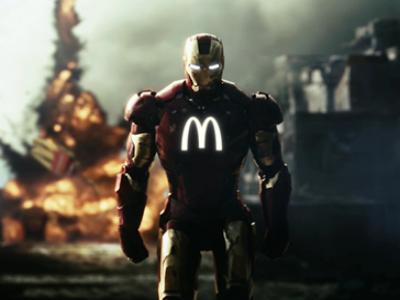 當Nike贊助黑暗騎士,麥當勞贊助鋼鐵人,這些超級英雄會以什麼面貌來戰鬥?