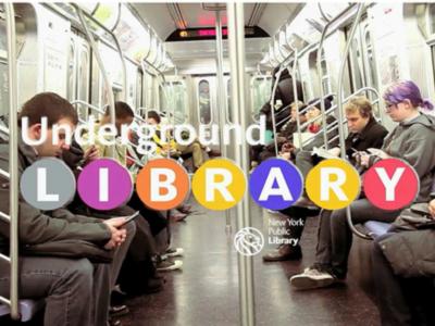 創意 NFC 技術運用,紐約地鐵打造虛擬圖書館