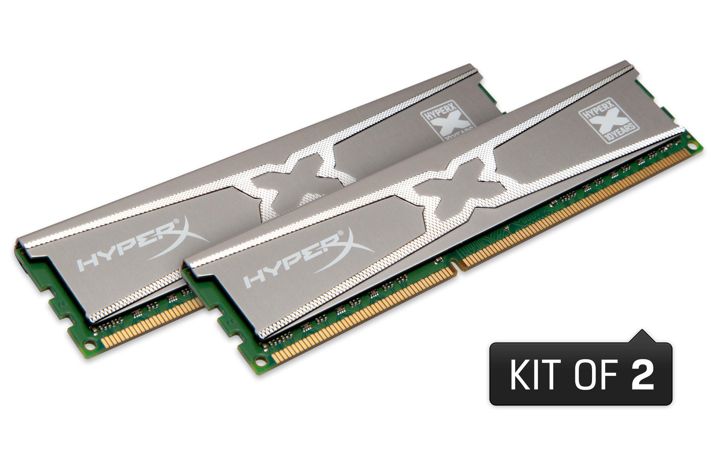 十破天驚 Kingston歡慶HyperX 10周年 紀念版記憶體PChome網路首賣 好康多連發!