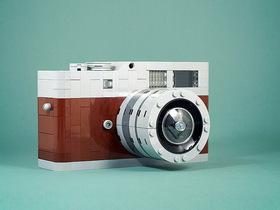 樂高神人打造 Leica M9-P 愛馬仕限量版,還有更多樂高攝影作品