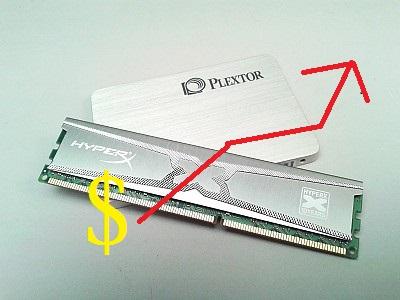 顆粒報價持續看漲,記憶體、SSD 固態硬碟價格恐怕回不去了