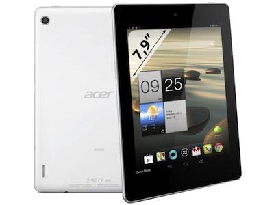 八千有找、四核、8吋螢幕平板電腦 Acer Iconia A1-810 即將推出