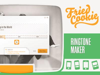 Fried Cookie Ringtone Maker,快速製作手機來電鈴聲