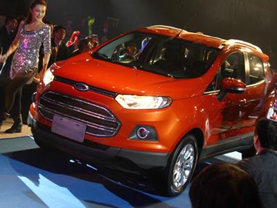 福特重量級全球戰略車款即將登台 : EcoSport小型休旅車
