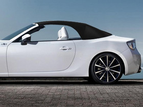Toyota FT-86 Open concept關篷圖片曝光