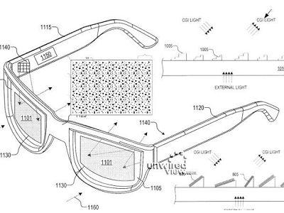 下一代 Google Glass 專利申請圖流出,長得更像正常眼鏡
