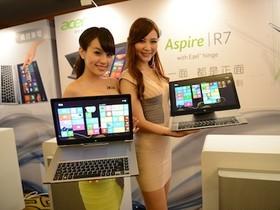 新世代雙軸旋轉觸控筆電 Acer Aspire R7 台灣初登場