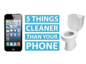 手機比馬桶還髒,含菌量高出馬桶20倍!