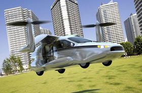 升天不求人,Terrafugia TF-X 油電飛天車概念登場
