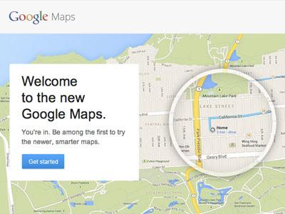 新版 Google Maps Preview 桌面版地圖動手玩,更簡潔、聰明的生活幫手